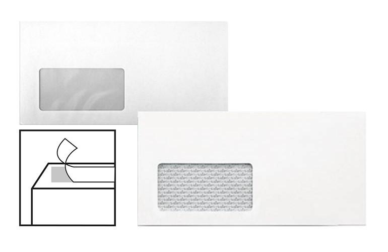Sonstige Briefumschlag Din Lang Weiß Fenster 25 50 100 250 500 Stück