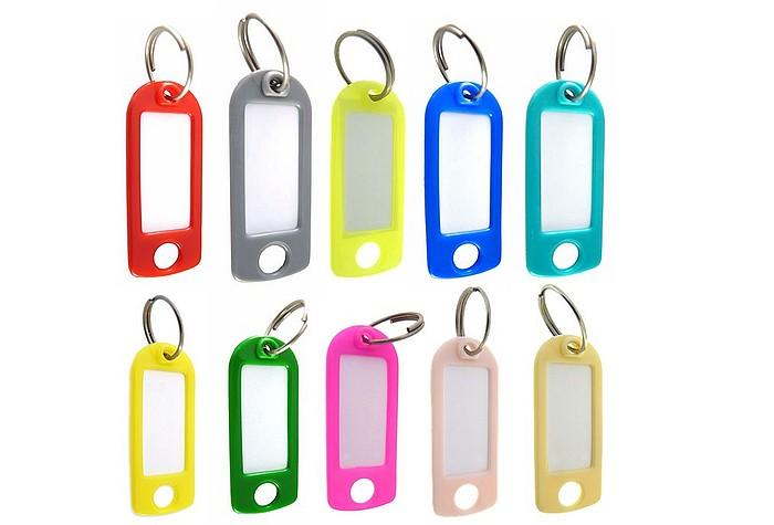 Schlüsselschilder Schlüsselanhänger verschiedene Farben wählbar Farbwunsch